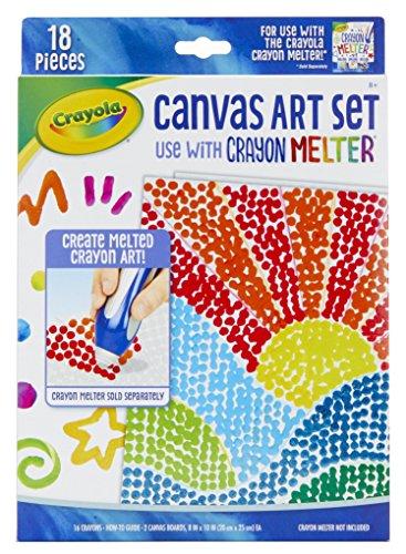 Crayola Pixel Art Crayon Melter Expansion Gift for Kids 8 9 10 11