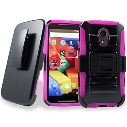 Amazon.com: Motorola Moto G2 caso, customerfirst Holster ...