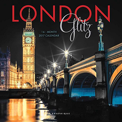 London Glitz 2017 Small Wall Calendar