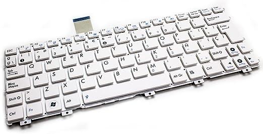 Teclado Asus EPC 1015 Series Blanco: Amazon.es: Electrónica