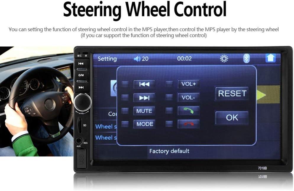 Doble 2 Din 7018B Autoradio Car Mp5 Radio Player 7 Inchpress Pantalla Multime 1I