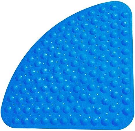 X-BLTU Duschmatten rutschfest Quadratisch,Anti Schimmel Badematten Waschmaschinenfest Badezimmer-Matte mit Saugnapf Antibakteriell Gummi Kinder-Duschmatte mit Ablaufl/öchern