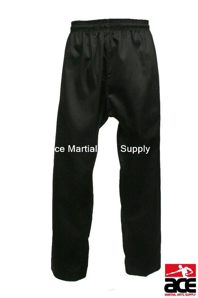 テコンドー格闘技空手パンツ B008FFWYII ブラック 5