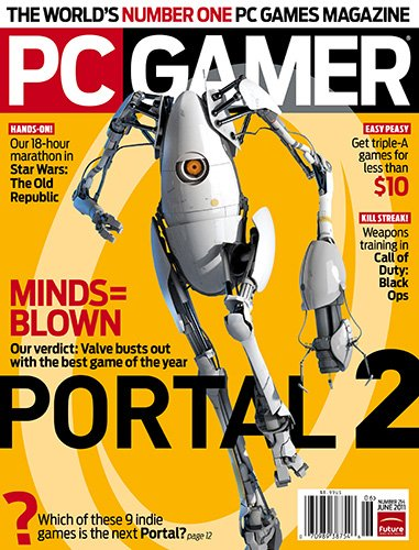 Picture of a PC Gamer with CD