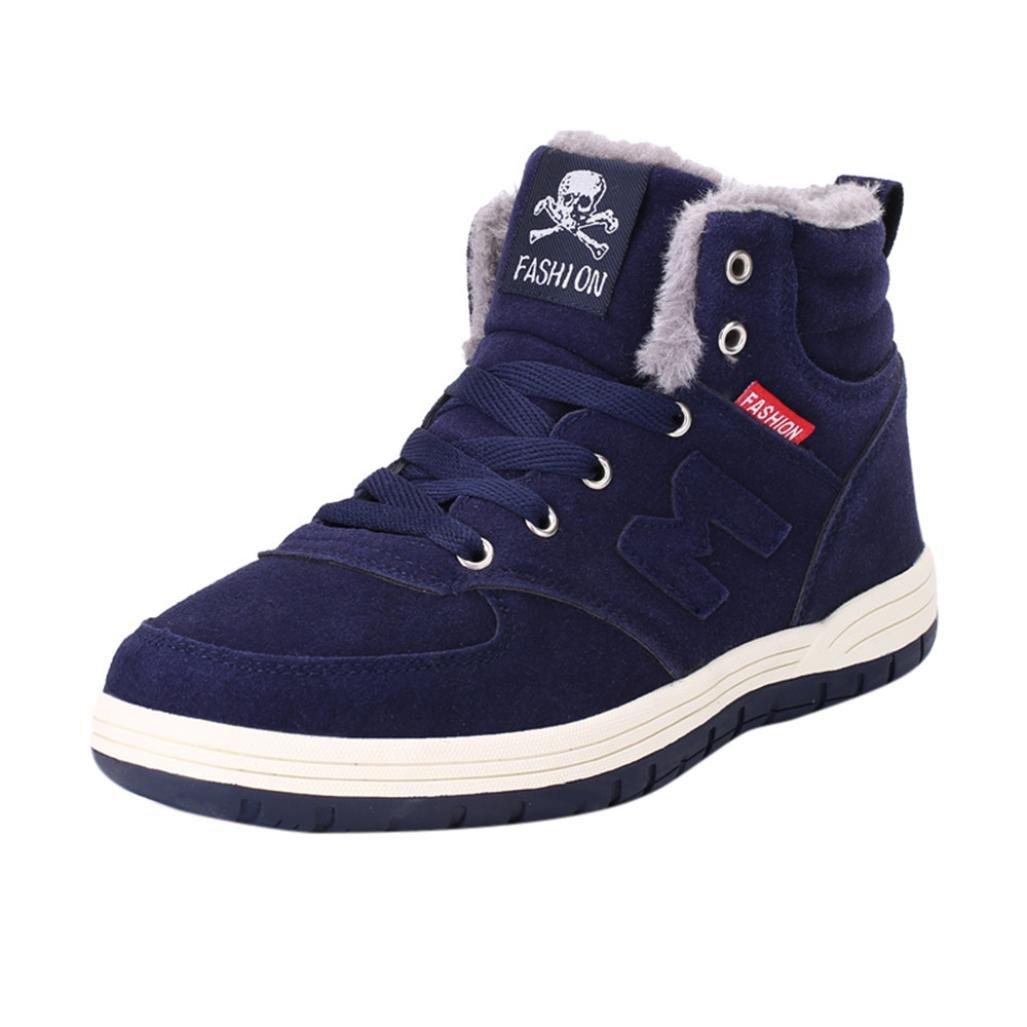 Zapatos de hombre Botas de invierno para hombres Moda Felpa Deporte Al