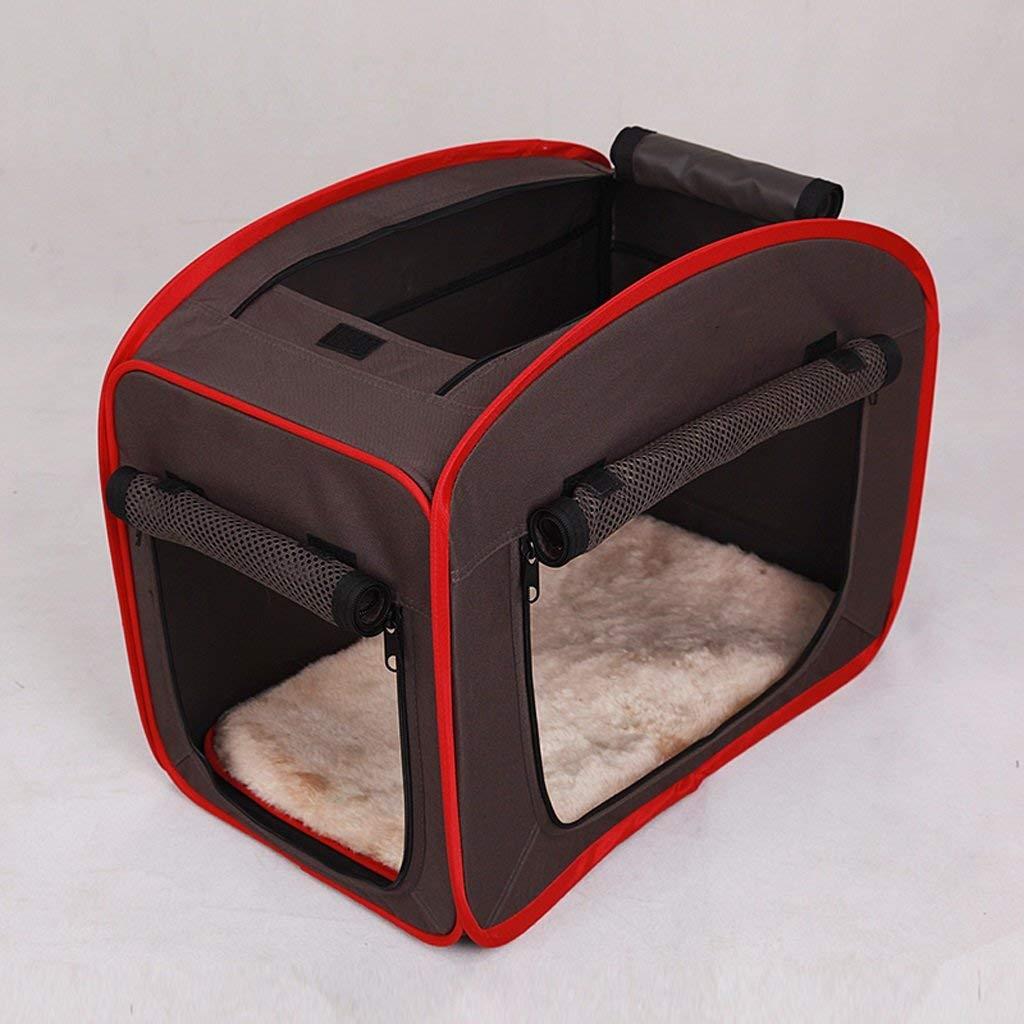 Cuccia Portatile Lavabile, Cuccia Pieghevole per Campeggio all'aperto, Cuccia per Interni (Dimensione   S)