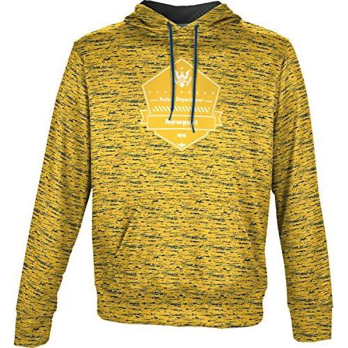 ProSphere Boys' Newport Police Department Brushed Hoodie Sweatshirt (Apparel) get discount