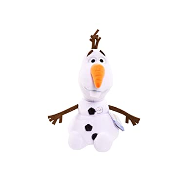 Disney Frozen Olaf Talking Bean Plush: Toys & Games