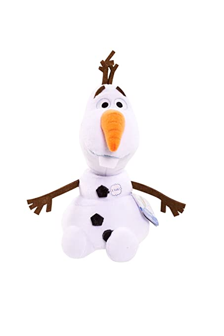 10ae707e313 Image Unavailable. Image not available for. Color  Disney Frozen Olaf  Talking Bean Plush