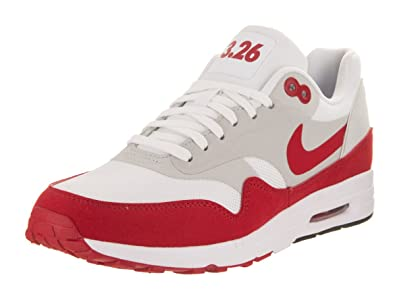 Nike Womens Air Max 1 Ultra 2.0 LE White University Red Running Shoe 6.5  Women 6809fe576f