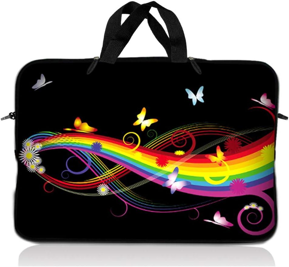 Space Laptop Bag Protective Laptop Case Black Hole Laptop Sleeve 13 Inch Sleeve Monogram Laptop Case Swirl Laptop Sleeve Case LD0308