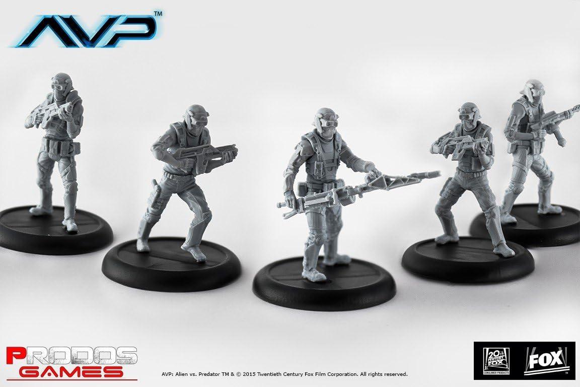 Alien Vs Predator Juego de Mesa The Hunt Begins Expansion Wayland Yutani Commandos *Edición Inglés*: Amazon.es: Juguetes y juegos