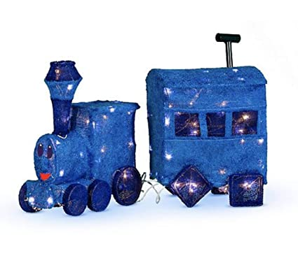the island of misfits toy train outdoor christmas decoration from rudolph the red nosed reindeer