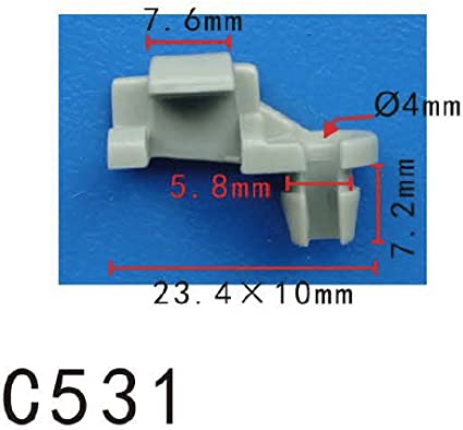 20  Cowl Panel Push Rivet Rettain Clip de fixation 91508SR3000 pour