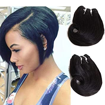 Amazon Com Eunice Hair Best Brazilian Short Body Wave