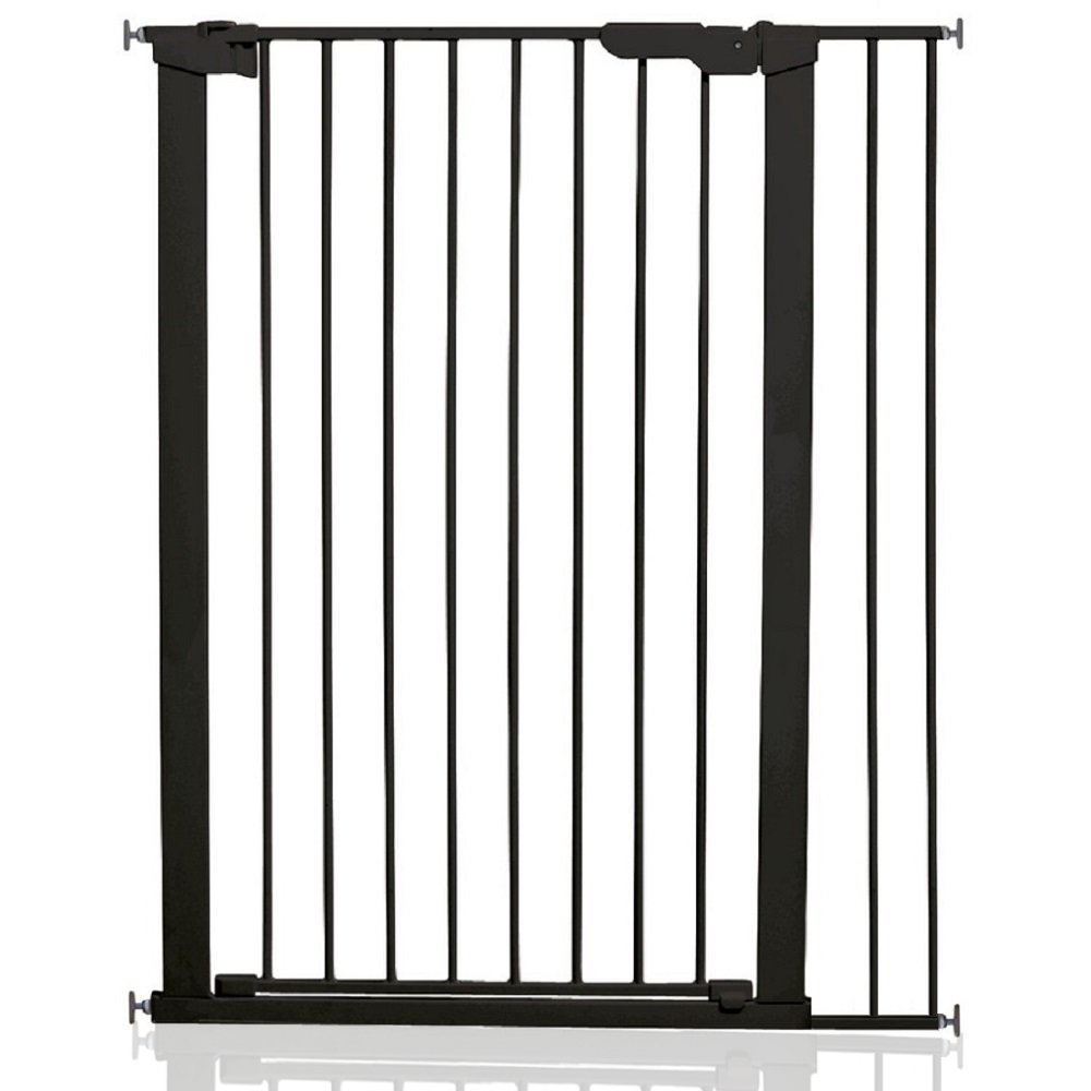 86cm - 92.5cm BabyDan Extra Tall Pressure Baby and Pet Gate Black All Widths