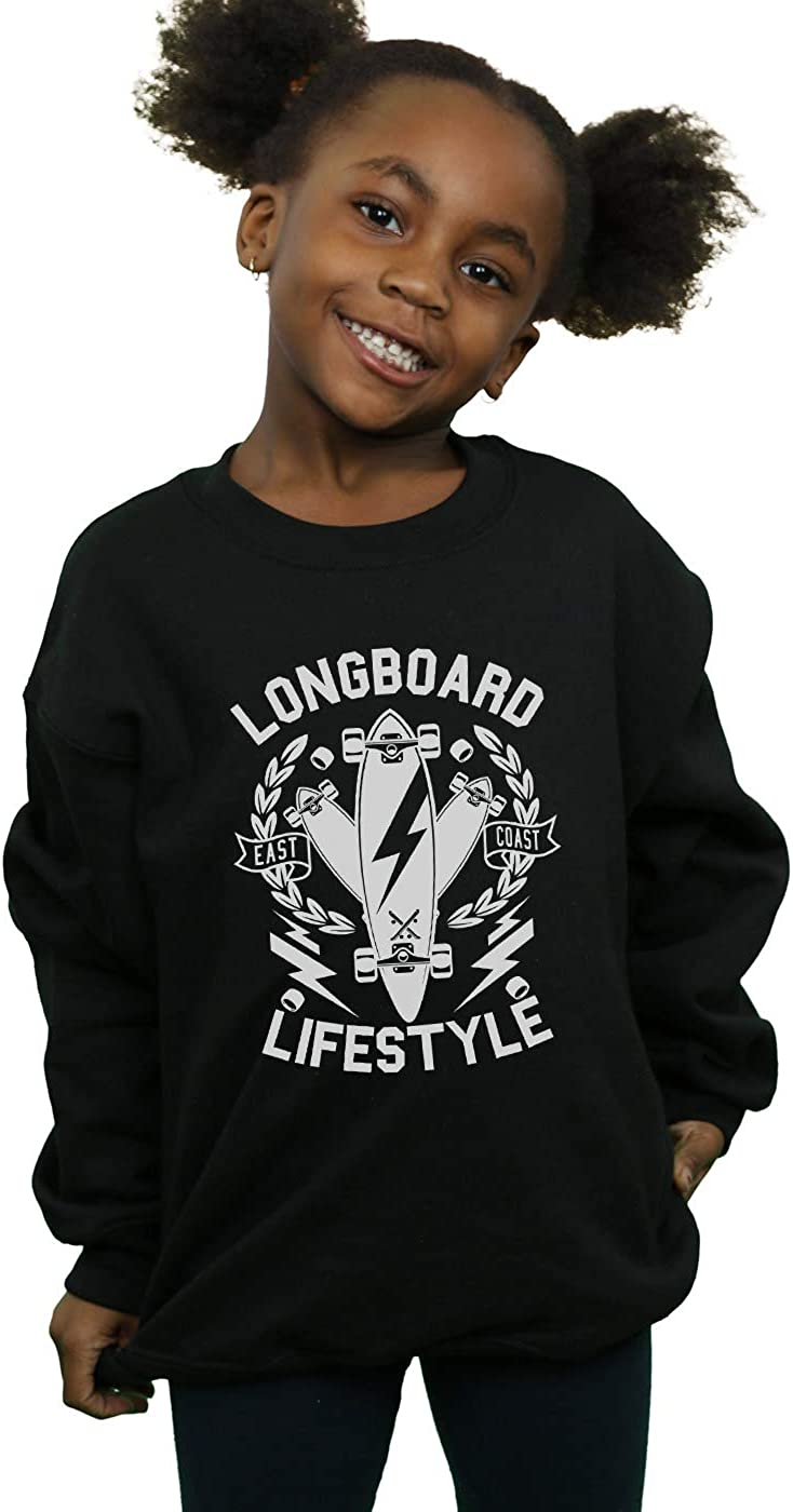 Drewbacca Girls Longboard Lifestyle Sweatshirt