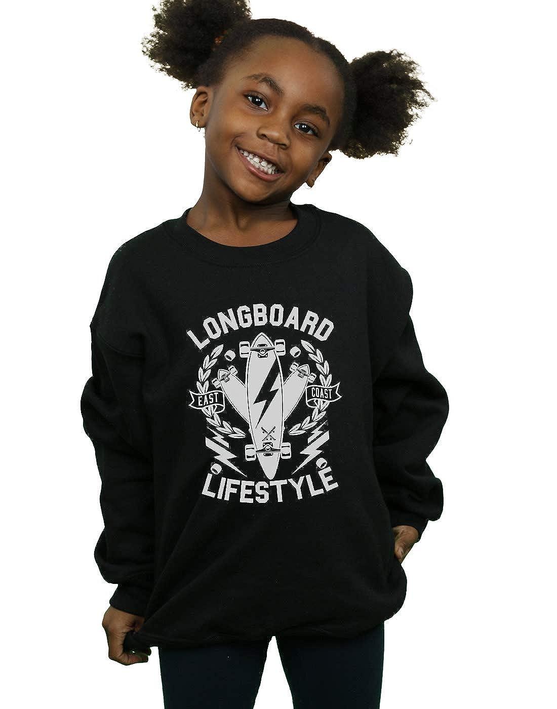 Drewbacca Girls Longboard Lifestyle Sweatshirt