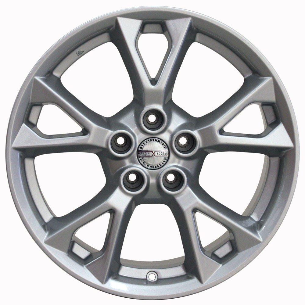 18x8 Wheel Fits Nissan, Infiniti - Nissan Maxima Style Silver Rim, Hollander 62582 by OE Wheels LLC (Image #3)