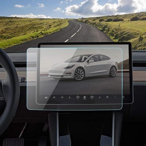 Amazon.com: SAILEAD Screen Protector Compatible with Tesla Model 3 ...