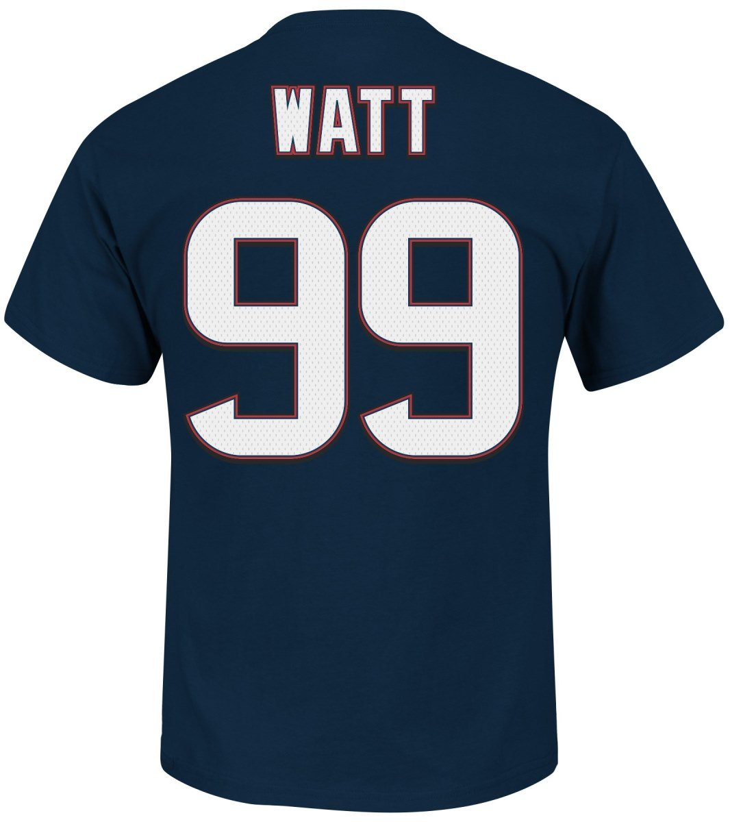 Amazon com j j watt houston texans eligible receiver ii navy name and number t shirt small sports outdoors