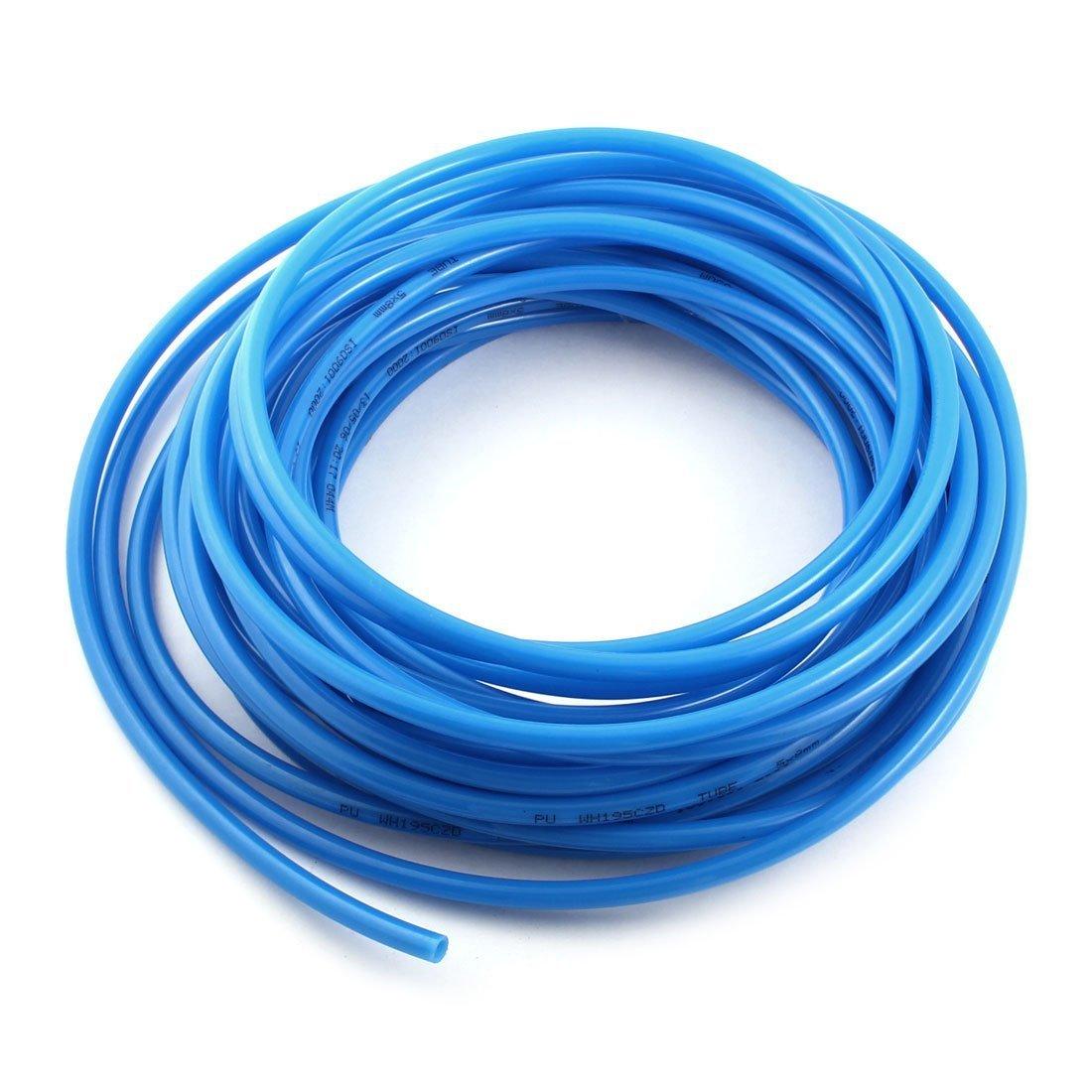 15 Metros 15, 2m Azul poliuretano PU Tubo De Aire Tuberí a Manguera 8mmx5mm 2m Azul poliuretano PU Tubo De Aire Tubería Manguera 8mmx5mm Sourcingmap a14101500ux0195