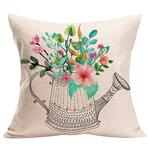 TiTCool 2018 Cushion Cover Hello Spring Home Decor Throw Pillowcase Pillow Covers 18x18 (N)