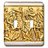Danita Delimont - Religion - Portugal, Fatima, Stations of the Cross inside basilica - Light Switch Covers - double toggle switch (lsp_227819_2)