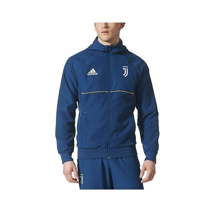 La Juventus chaqueta azul que representa 2017/18 Adidas - 06 ...