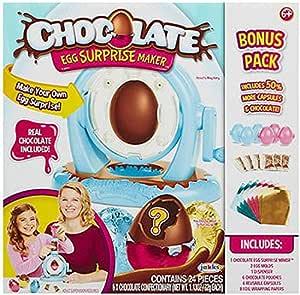 Chocolate Egg Surprise Maker Paquete de bonificación 24 piezas