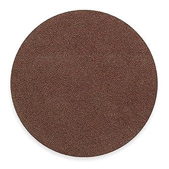 PSA Sanding Disc, AlO, Cloth, 18in, 40 Grit