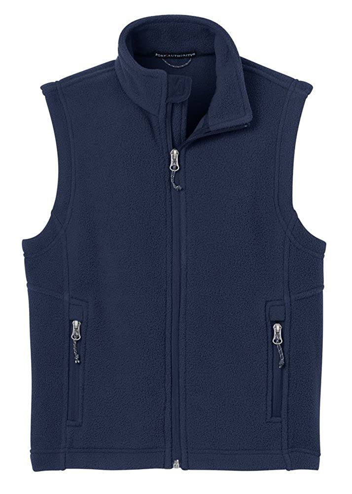 Port Authority Youth Value Fleece Vest Navy Small