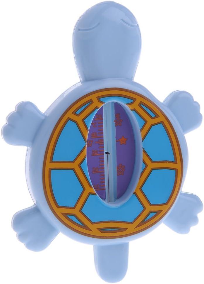 con forma de tortuga de ba/ño temperatura para beb/és Autone Term/ómetro de ba/ño beb/é juguetes de ducha para ni/ños peque/ños