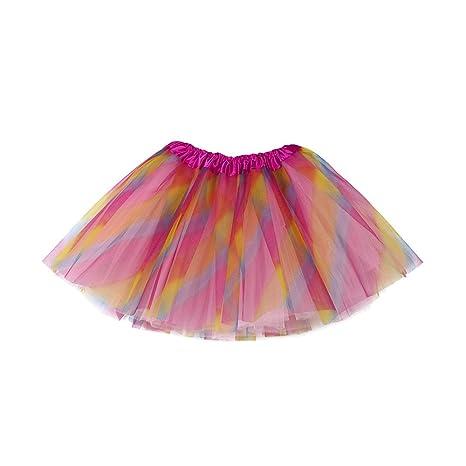 Feixiang Bebé Lindo para niños Falda de Ballet Falda de Ballet Fiesta de fantasía Falda Princesa