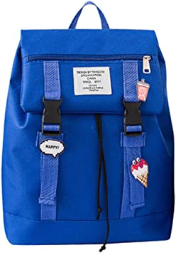 Kids Girls Boys Preppy Student Shoulder School Bag Family Travel Backpack Bag
