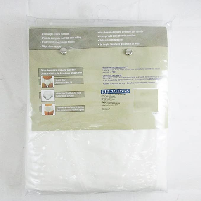 Amazon.com: King Size Vinyl Zippered Mattress Cover Protector Dust Bug Allergy Waterproof!: Automotive
