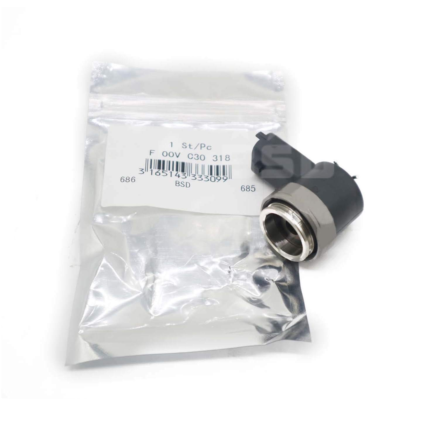 Solenoid Switch Valve Assembly Valve Repair Kit F00VC30318 for Common Rail Injector Magnet Connection Group