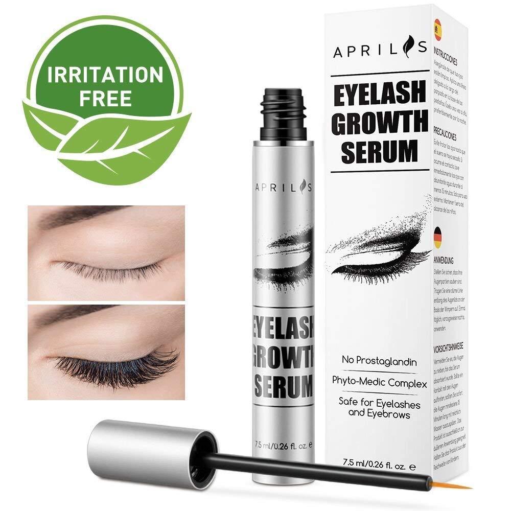 Lash Longer Eyelash Growth Serum Treatment Aprilis Lash Conditioner Enhancer Growth Serumeyelash Booster Fuller Thicker Eyelashes Eyebrows