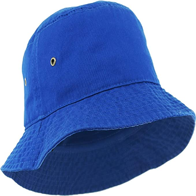 1720409f7bfa9 Image Unavailable. Image not available for. Color  Boonie Bucket Hat  Fishing Hunting Outdoor Cap Royal Blue