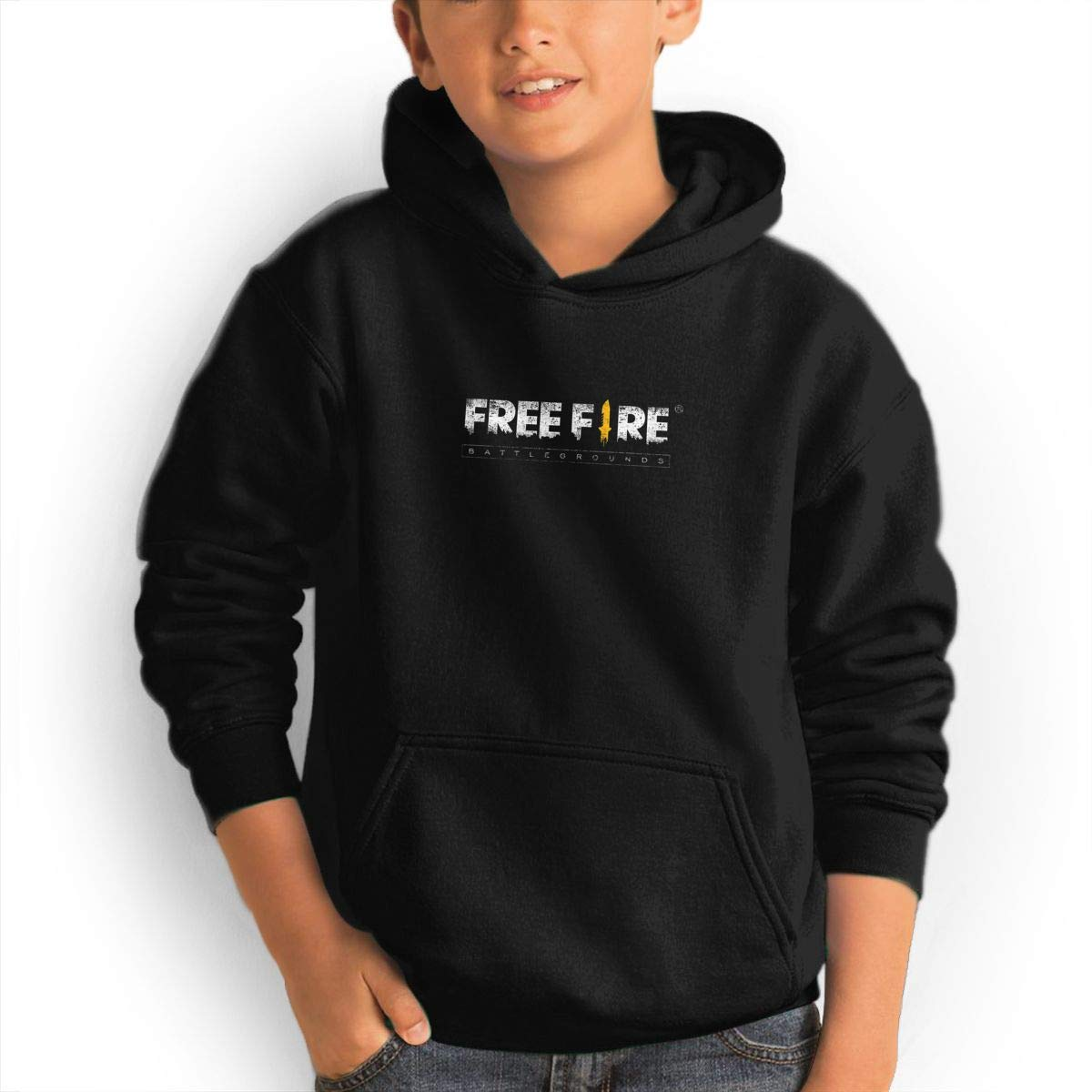 Amazoncom Quxueyuannan Black Hoodie Free Fire Casual