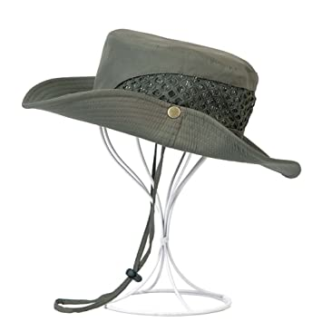 a2f2a7c4571 Image Unavailable. Image not available for. Color  PANDA SUPERSTORE Fishing  Hat Beach Hat Straw Hat Men Male ...