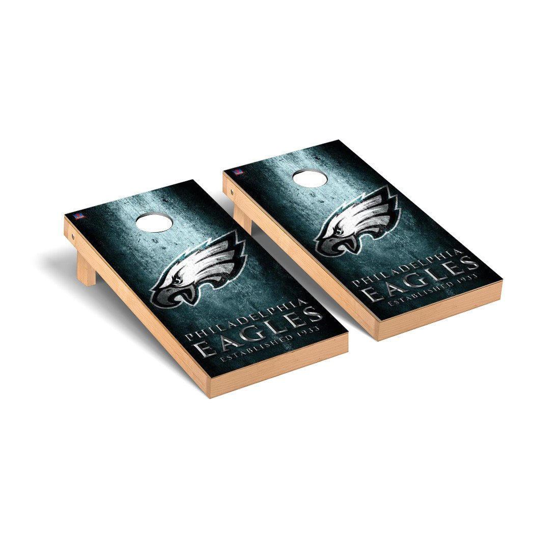 NFL Philadelphia Eagles Museum Version Football Corn hole Game Set, One Size by Victory Tailgate (Image #1)