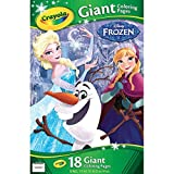 Disney Frozen Crayola Giant Colouring Pages by Disney - Best Reviews Guide