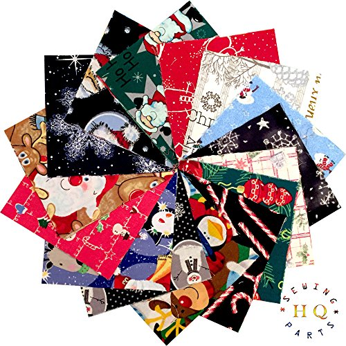 FABRIC SQUARES PATCHWORK.POLYCOTTON.50 X 4 /& 5 INCH SQUARES.CRAFTS.CHARM PACKS
