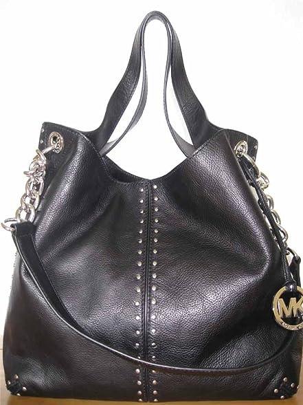 155221f2e4b69d ... norway michael kors black leather uptown astor large satchel tote  handbag with gold hardware 47706 e6b24 ...