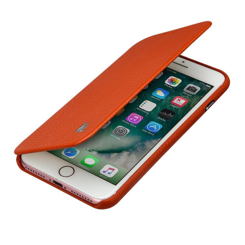 Jisoncase Iphone 7 Plus Case 8 Mobiskin Vine Leather Classic Handmade Magnetic Slim Folio Flip Protective For
