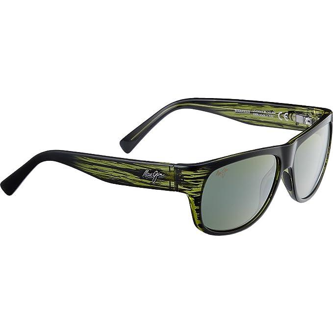 Gafas de sol Maui Jim HT282-15C Verde Cuadrado: Amazon.es ...
