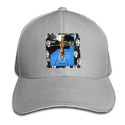 a410742b263 PaulineDM Def Leppard High N Dry Unisex Sandwich Bill Baseball Sanpback Cap  Hat Trucker Snapback Cap