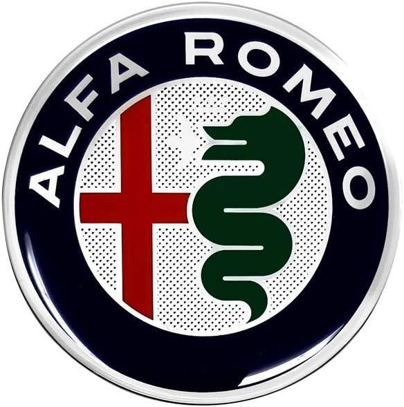 40 mm Diam Alfa Romeo 21830 Adesivi 3D Ufficiali Logo