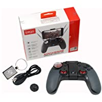 Mcbazel iPega PG-9099 Wireless Controller Dual Motor Turbo LED Light Key Joystick Telescopic Function Gamepad for Android 6.2 inches Smart Phone PC with Gam3Gear Keychain